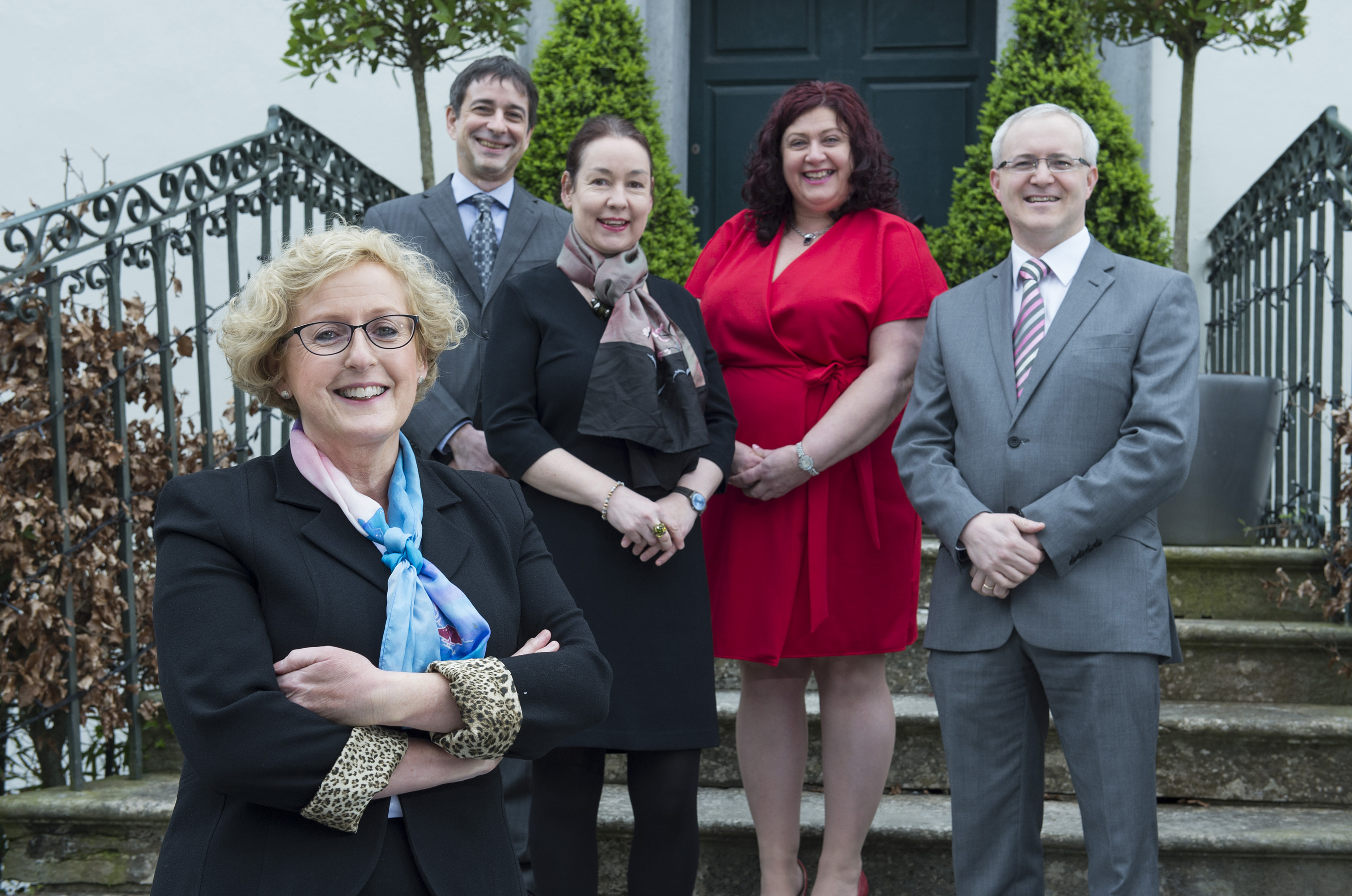 free pic no repro fee     GMC06042017  Dr Marie Murphy, Dr Michael Bauer , Ms Judy Wall, Catherine Buckley Conference Chair and Dr Kieran O'Connor pictured at the St Luke's Home Annual Conference, Resident, Staff, Family, Relationships at the Radisson Blu Hotel. Photography by  Gerard McCarthy 087 8537228 more info contact Oonagh O' Driscoll   St. Luke's Home Foundation    Oonagh.odriscoll@stlukeshome.ie     (086)  8119340  (021) 4359444